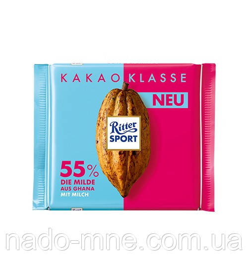 Шоколад Ritter Sport Kakao Klasse 55 %