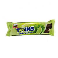Шоколадные вафли twins со вкусом лайма, фото 1