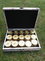 Подарочный набор меда с орехами, 15 шт, фото 1