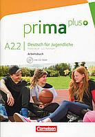 Prima plus A2: Band 2 Arbeitsbuch (+CD-ROM)