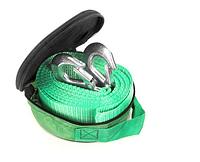 Трос буксировочный 3 т 5,0м Armer крюк зеленый ARM-35