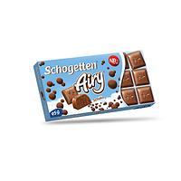 Шоколад Schogetten, Пористый молочный шоколад 100 г Германия