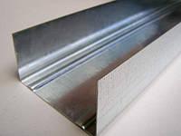 Профиль оцинкованный для гипсокартона UW 75/40/3 м.п., фото 1
