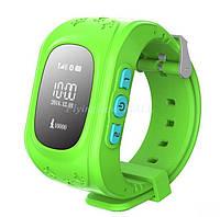 Детские умные часы Smart Watch с GPS-треккером Q50 Салатовые