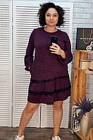 Платье женское 2894 фиолетовое