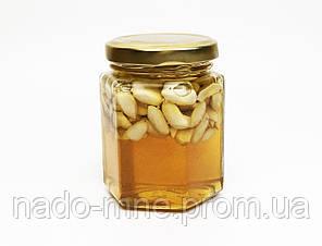 Мёд с арахисом, (230 г - мед, 40 г - орехи)