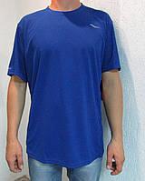 Мужская футболка Saucony 80991 синяя код 027 в