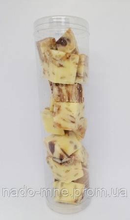Халва горіхова з шоколадом в тубусі, 200 г
