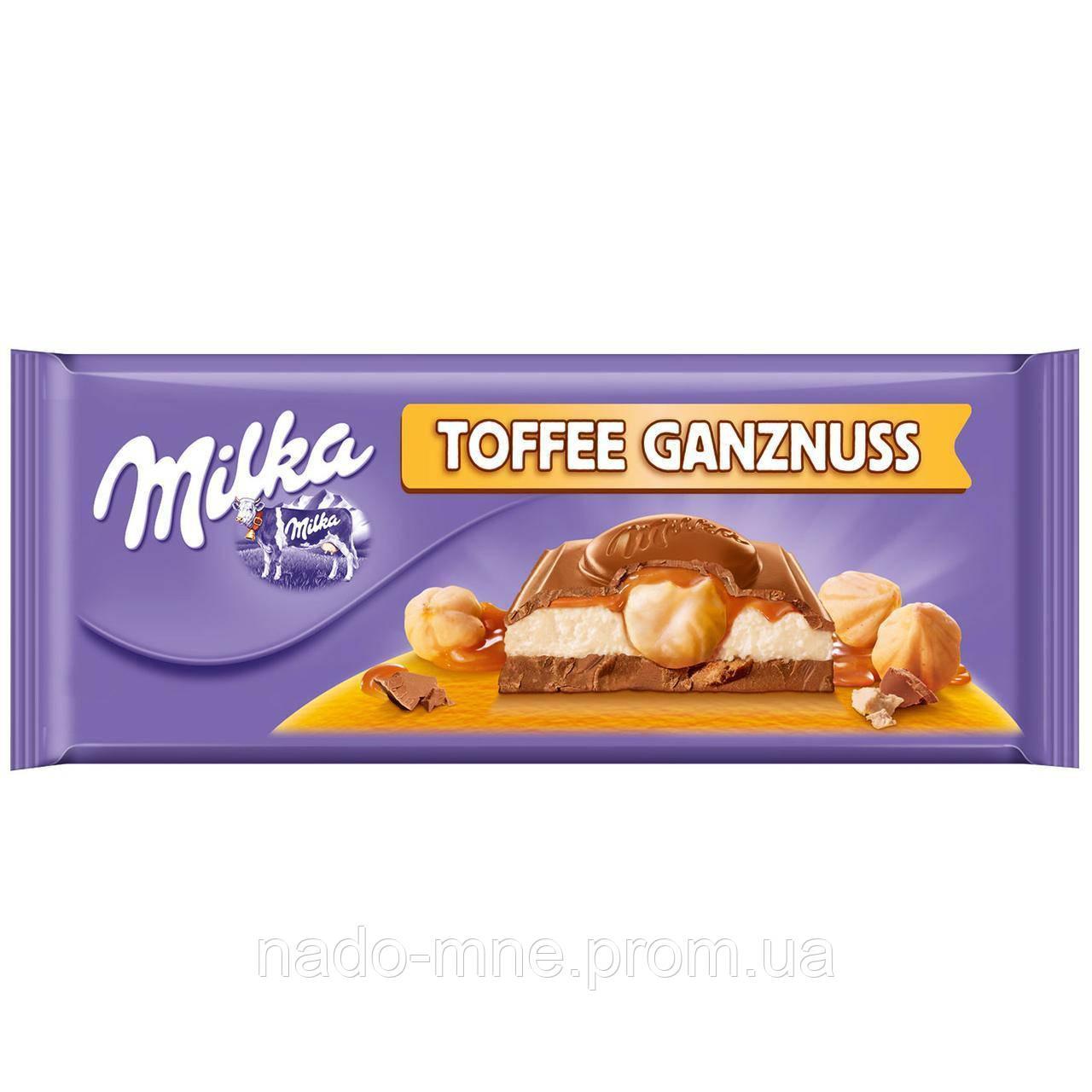 Шоколад Milka Toffee 300 г. Швейцария