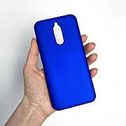 Силиконовый чехол SLIM на Xiaomi Redmi 8 Blue