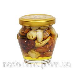 Мед с ассорти орехов, 110 г
