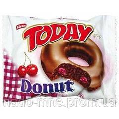Пончики Today Donut вишневий, 50 г (Донат вишня)