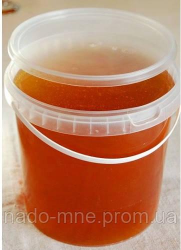 Мед в пет відерці різнотрав'я, 1л - 1,4 кг
