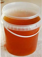 Мёд в пэт ведерке разнотравье, 1л - 1,4 кг