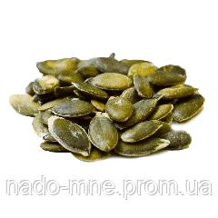 Семечки тыквенные очищенные сырые, (без скорлупы). Гарбузове насіння очищене, 1 кг