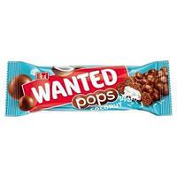 Шоколадка Wanted pops кокос, 28 г (24 шт у коробке)