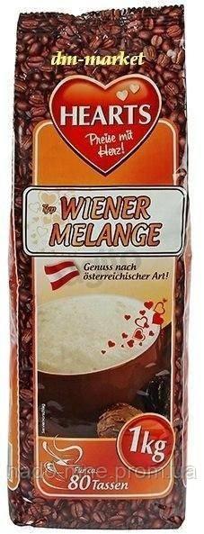Капучіно Віденський Меланж, Hearts Cappuccino Wiener Melange, розчинний напій 3в1, 1 кг