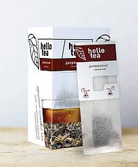 Чай Hello tea Black 20шт Черный
