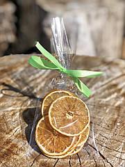 Слайсы сушеного апельсина, вес 20 г.