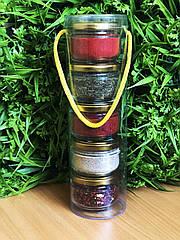 Подарочный набор из специй : паприка сладкая, кардамон, для корейских салатов, укроп, для первых блюд