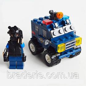 Конструктор Полицейская техника KY98503