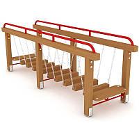 Детский игровой мостик на цепях Шаг