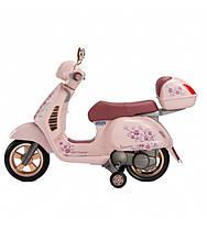 Детский электромотоцикл Peg-Perego Vespa Mon Amour, фото 2