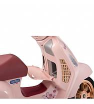 Детский электромотоцикл Peg-Perego Vespa Mon Amour, фото 3