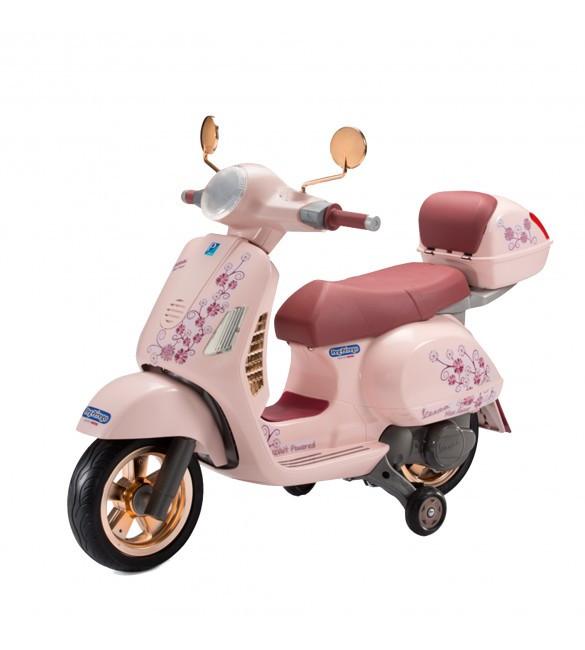 Детский электромотоцикл Peg-Perego Vespa Mon Amour