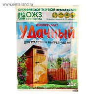 Удачный Биопрепарат для туалетов и выгребных ям 30 г