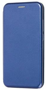 Чехол (книжка) премиум для Xiaomi Redmi Note 8T (синяя)