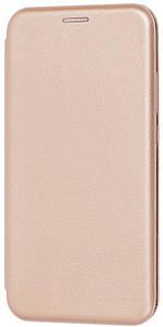 Чехол (книжка) премиум для Xiaomi Redmi Note 8T (золотая)