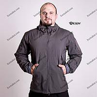 Тактическая куртка на флисе ESDY SoftShell Ranger Gray, фото 1