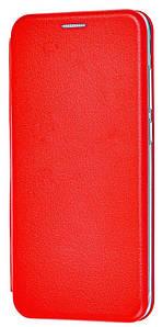 Чохол (книжка) преміум для Xiaomi Redmi Note 8T (червона)