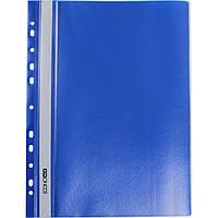 Папка скоросшиватель А4 с перфорацией синяя