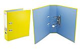 Папка реєстратор А4 Economix, 70 мм, жовта, фото 2