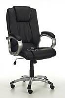 Крісло офісне Calviano Manline чорне масаж + підігрів