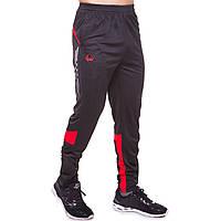 Штаны тренировочные футбольные мужские спортивные футболиста ZELART Черно-красные (9051-R) L, фото 1