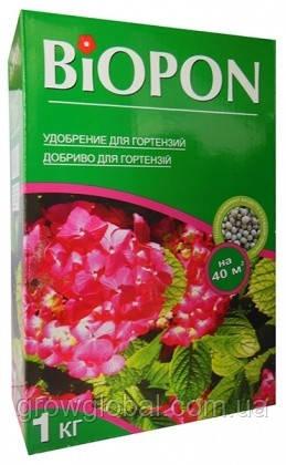 Удобрение «Биопон» (Biopon) для Гортензий 1 кг, оригинал