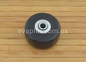 Колесо для чемодана на подшипниках 42/6/22 мм (черное)