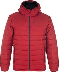 Куртка спортивная на пуху Outventure на молнии красного цвета