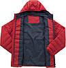 Куртка спортивная на пуху Outventure на молнии красного цвета, фото 2