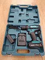 Шуруповерт аккумуляторный Makita DHP482 ( 18V,2 аккумулятора + Кейс в комплекте )