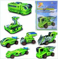 Конструктор транспорт на солнечной батарее  7в1