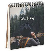Блокнот Sketchbook (квадрат.) Follow the way (BDK_17A059)
