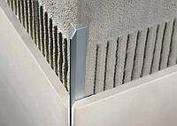 """Профіль для плитки """"Mersedes"""" алюміній хром. 12.5 мм/2,7 м"""