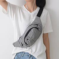 Мужская сумка на пояс FS-4052-75
