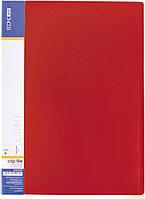 Папка-скоросшиватель А4 с пружинным механизмом Economix CLIP A, красная E31201-03