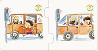"""Обучающая игра """"Правильно-неправильно. В транспорте"""" (укр) КН973002У"""