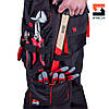 Костюм рабочий с брюками SteelUZ, красная отделка 50, фото 4